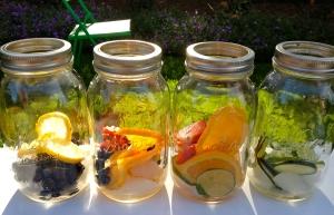 טיהור מים עם פירות. מקסים, בריא, טעים